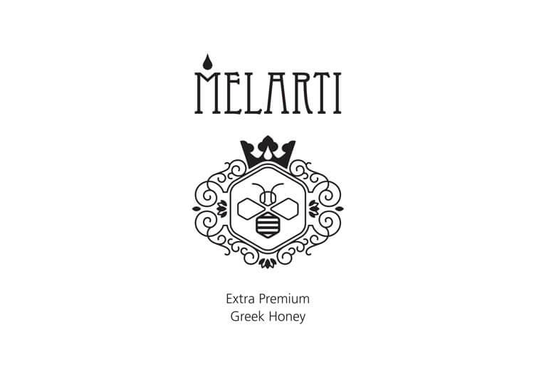 Λογότυπο για μέλι MELARTI