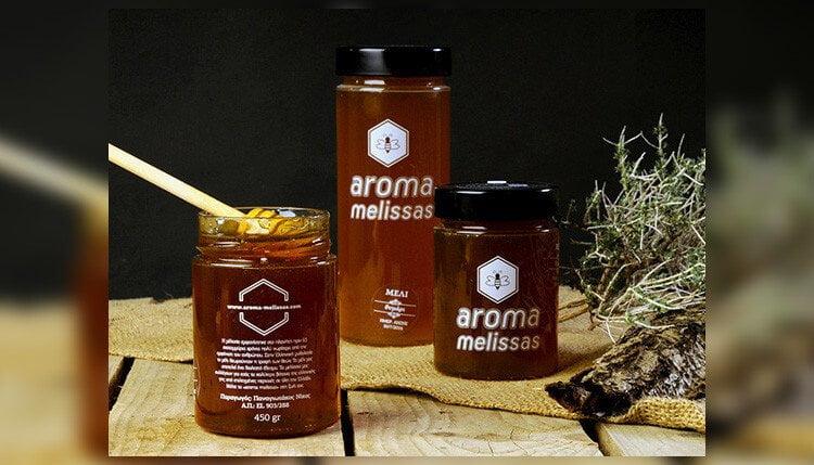 aroma-melissas-syskevasia-meli-sxediasmos-apo-grafista-deigmata