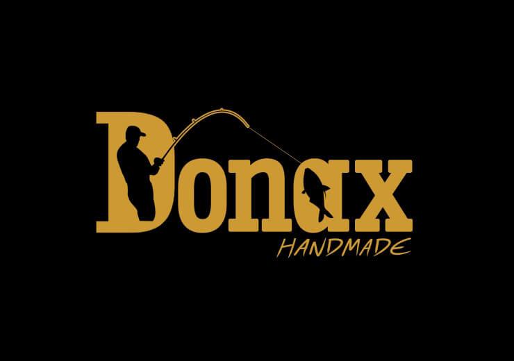 DONAX λογότυπο χειροποίητα καλάμια ψαρέματος