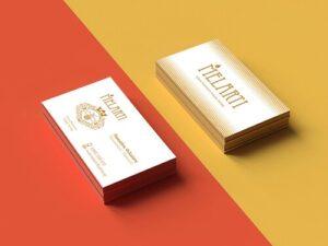 Σχεδιασμός επαγγελματικής κάρτα για μέλι