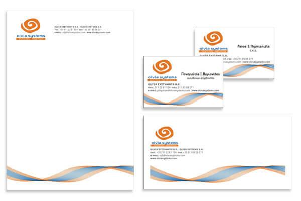 Επαγγελματικής Κάρτα Φάκελος Ομοιόμοφη Εταιρική Ταυτότητα