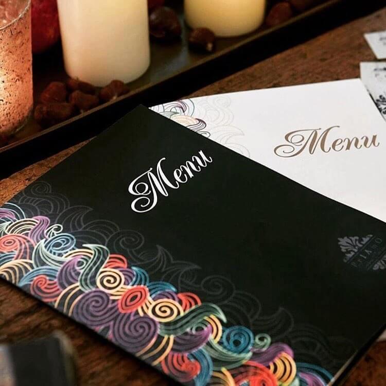 γραφιστικός σχεδιασμός MENU ιταλικού εστιατορίου