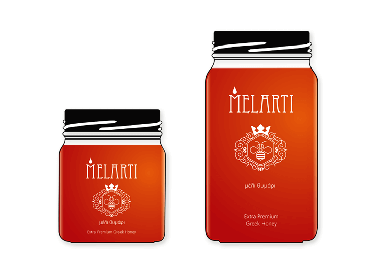 Συσκευασία μέλι MELARTI