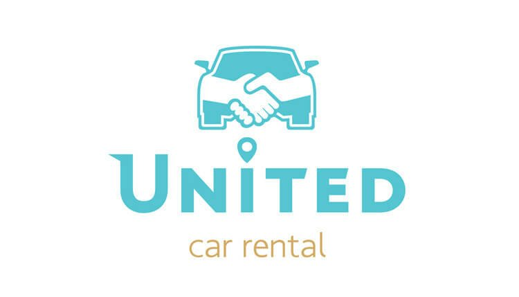 logotypo rent a car united karpathos sxediasmos grafistas 2