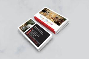 Σχεδιασμός επαγγελματικής κάρτας για παιδότοπο από γραφίστα