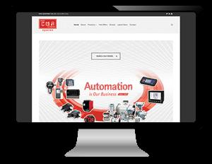 Σχεδιασμός και κατασκευή ιστοσελίδας για spare parts αυτοματισμού σε ναυτιλία / βιομηχανία
