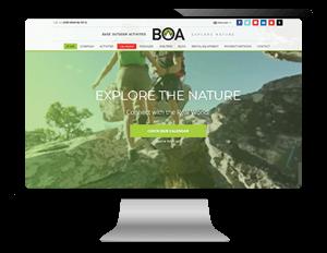 Σχεδιασμός και κατασκευή ιστοελίδας από γραφίστα για outdoor activities