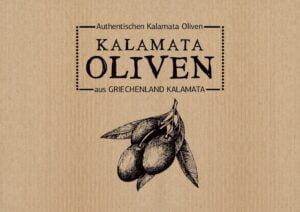 Λογότυπα για KALAMATA OLIVEN by KRETA NATURA